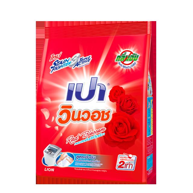 ผงซักฟอก เปา วินวอช กลิ่น Red Blossom